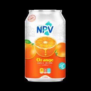 Orange juice drink 330ml can