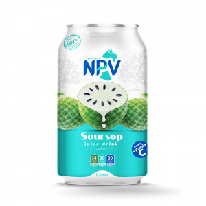 NPV Soursop Juice Drink 330ml Canned