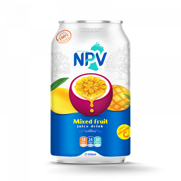 Mix Fruit Juice Drink 330ml Canned