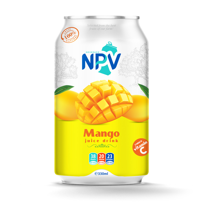 Mango Juice Drink 330ml Canned