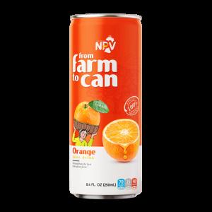 Nước cam ép đóng lon 250ml