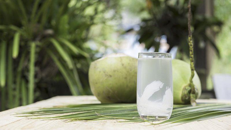 Nước dừa tươi mát